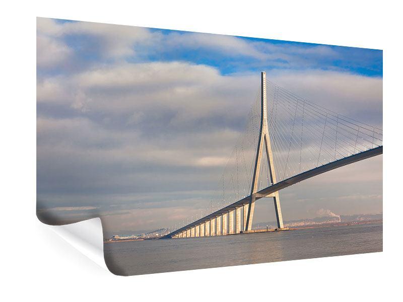 Poster Pont de Normandie