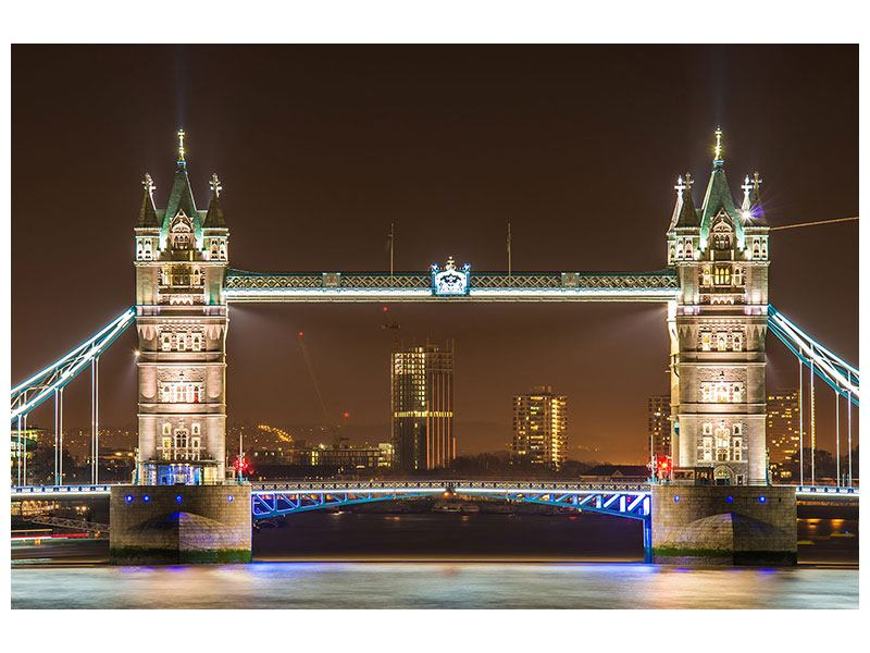 Poster Tower Bridge bei Nacht