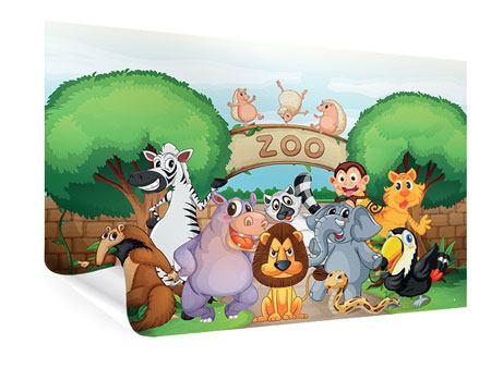 Poster Der lustige Zoo