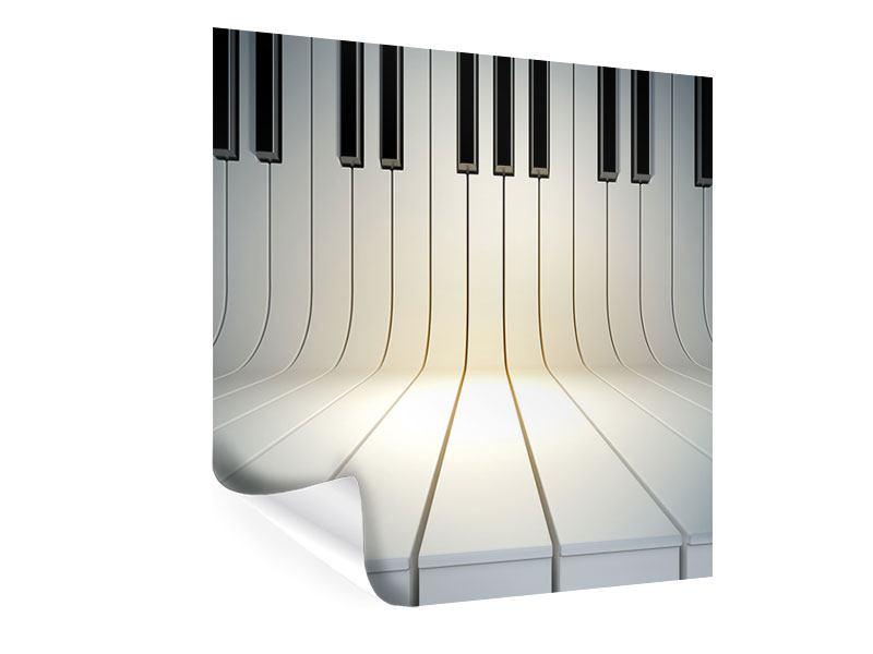 Poster Klaviertasten