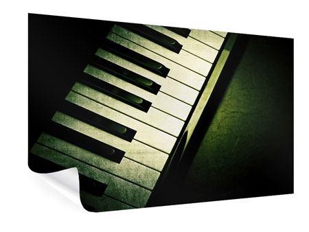 Poster Close Up Klavier