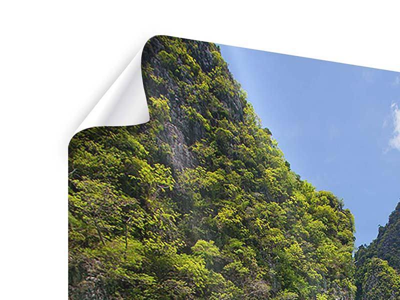 Poster Das Kliff und das Meer