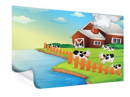 Poster Eine Kuh macht Muh