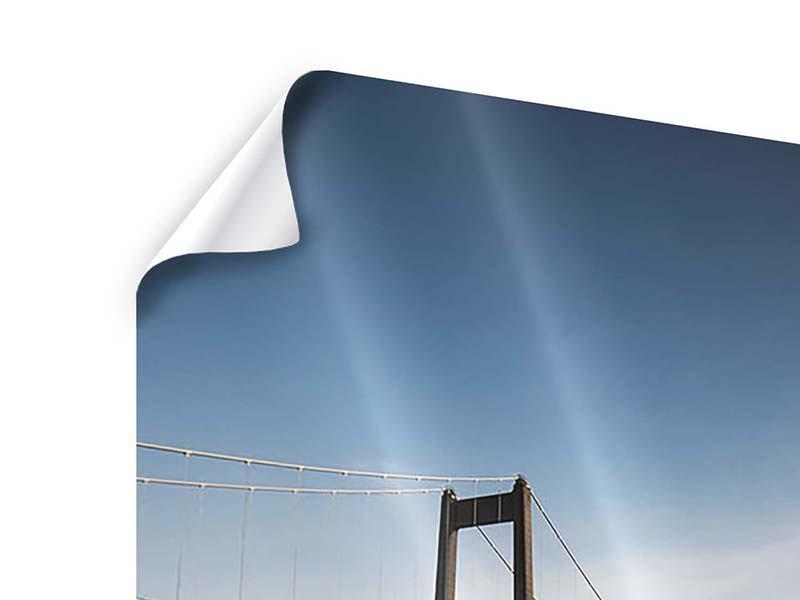 Poster Moderne Brücke