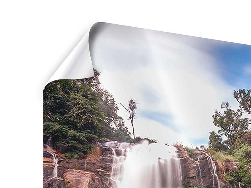 Poster Wasserfall in Thailand