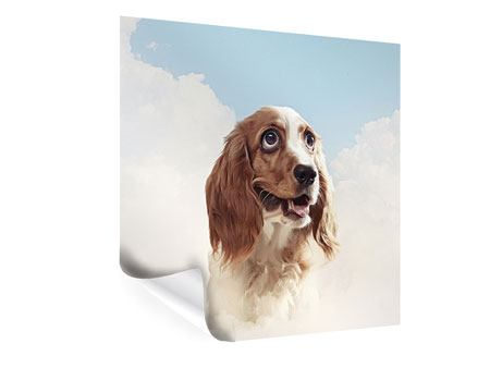 Poster Fröhlicher Hund