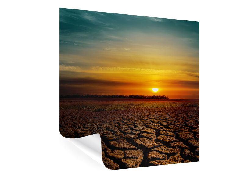 Poster Afrikas Dürre