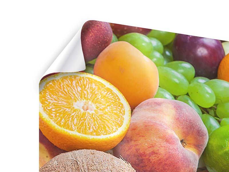 Poster Frische Früchte