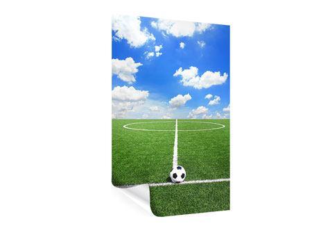 Poster Fussballfeld
