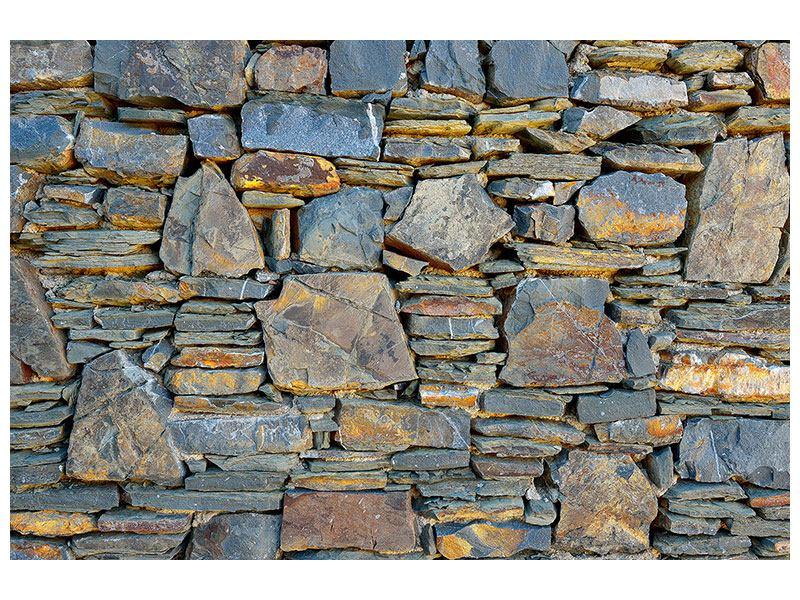 Poster Natürliche Steinmauer