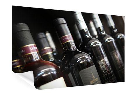 Poster Flaschenweine