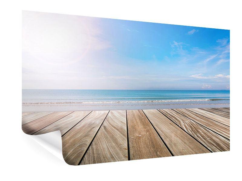 Poster Das schöne Strandhaus