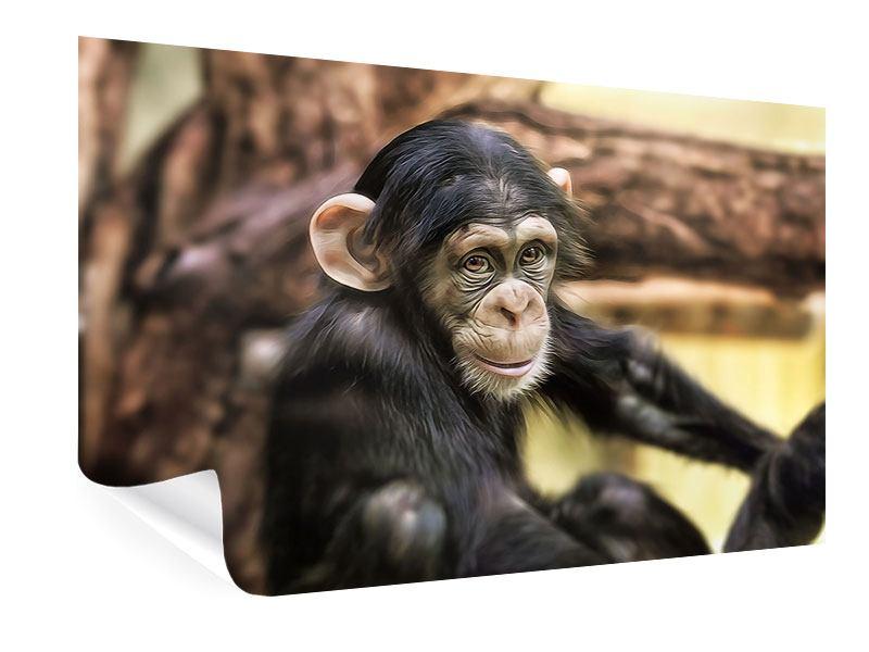 Poster Der Schimpanse