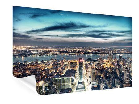 Poster Skyline Manhattan Citylights