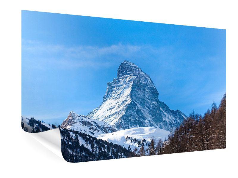 Poster Das majestätische Matterhorn