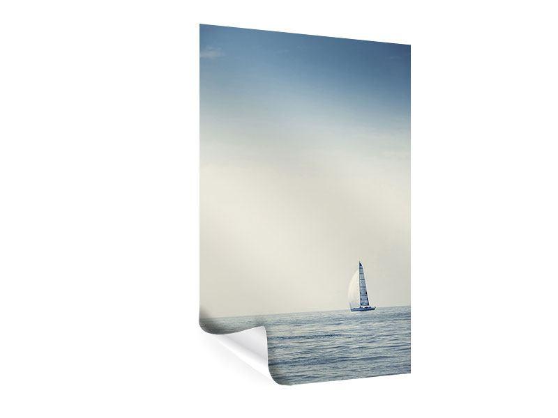 Poster Segelboot