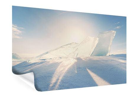Poster Eislandschaft