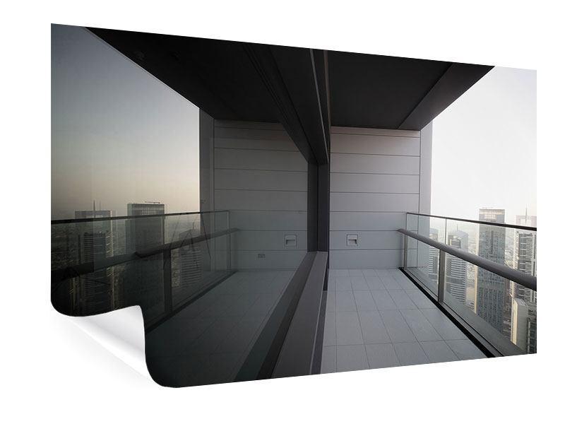 Poster Balkon in Dubai