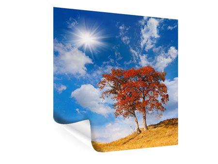 Poster Der Herbstbaum