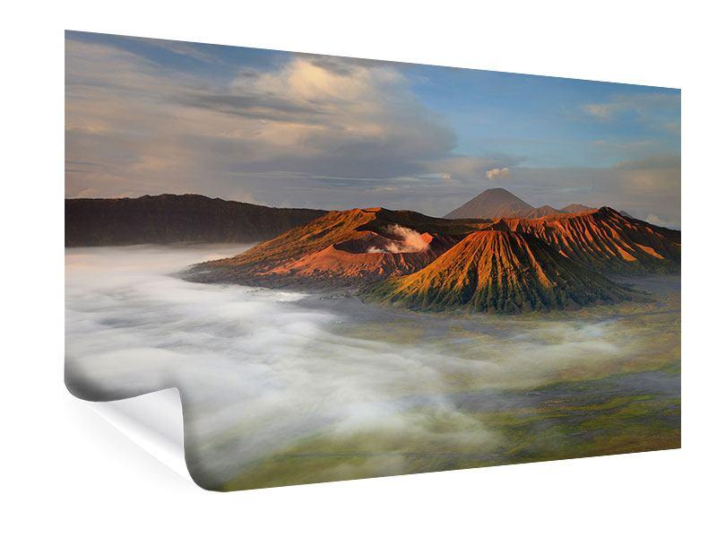 Poster Der Bromo Vulkan