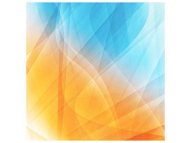 Poster Abstrakte Fliessende Farben