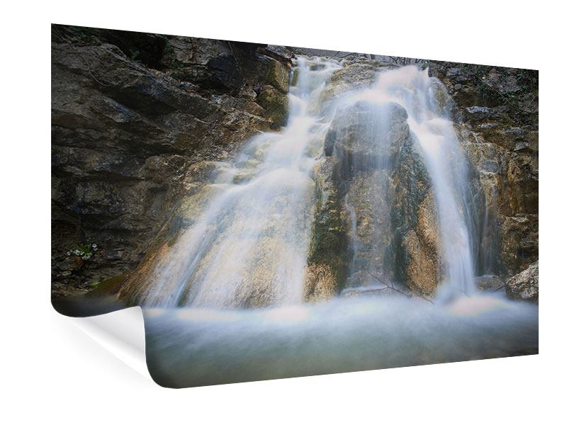 Poster Imposanter Wasserfall