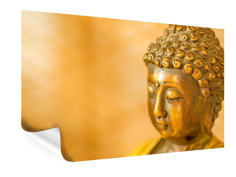 Poster Buddha Kopf