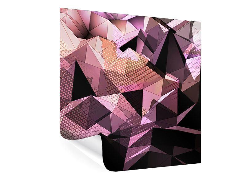 Poster 3D-Kristallstruktur