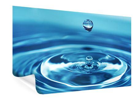 Poster Der Wassertropfen