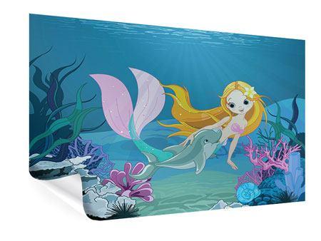 Poster Die Meerjungfrau