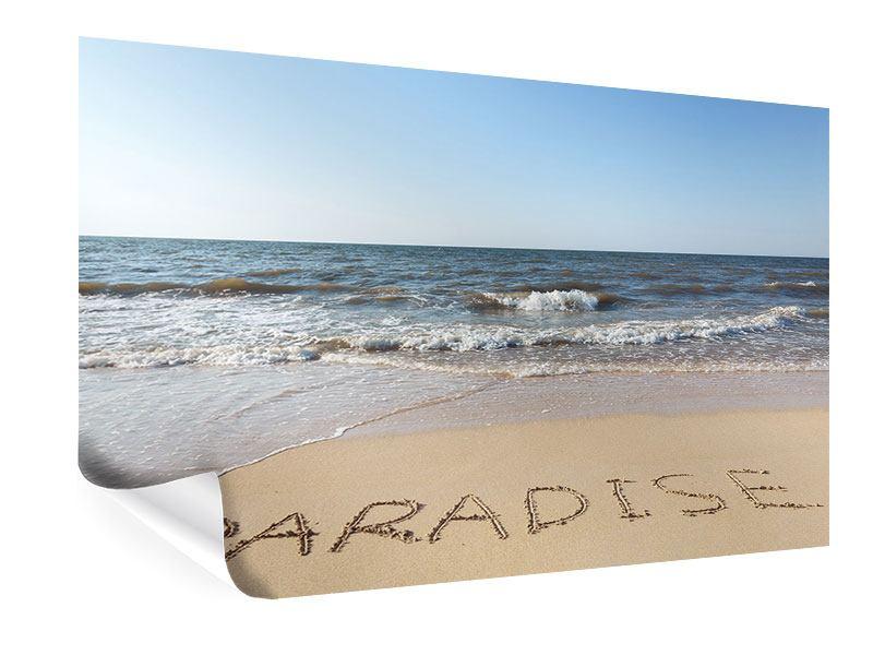 Poster Sandspuren
