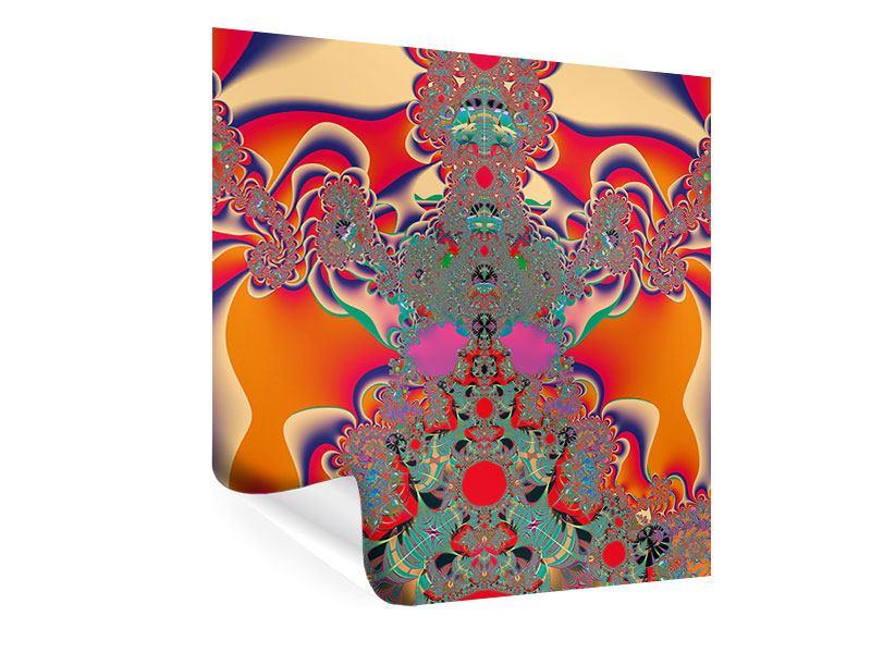 Poster Psychedelische Kunst