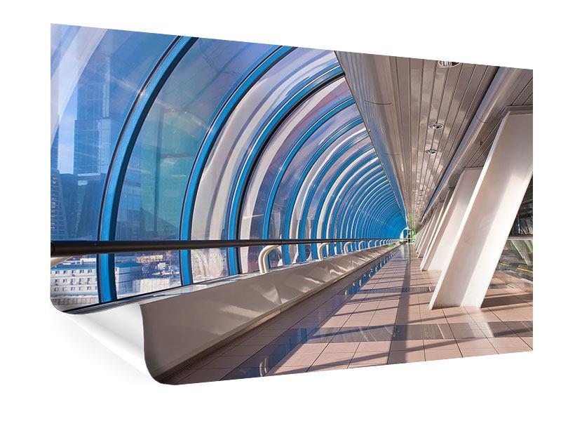 Poster Hypermoderne Brücke