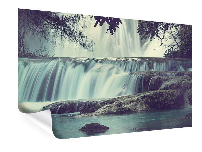 Poster Wasserfall Mexiko
