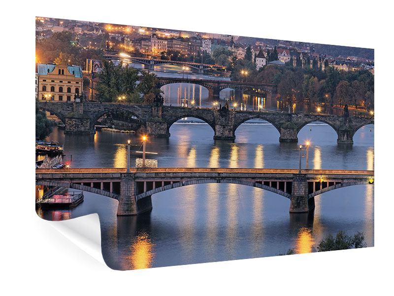Poster Brücken in Prag