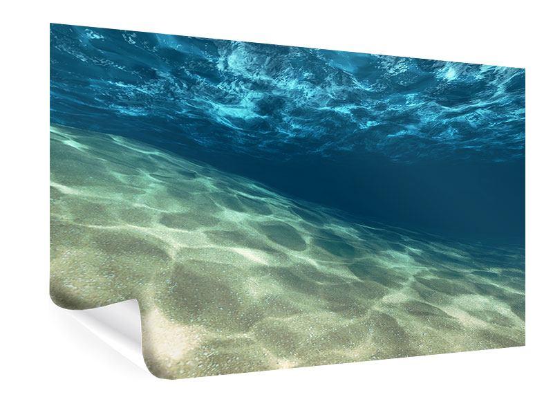 Poster Unter dem Wasser
