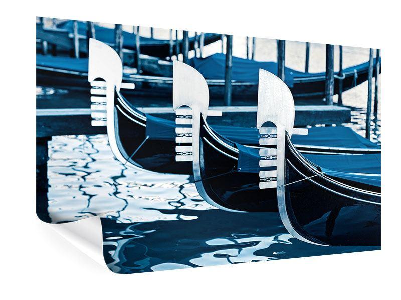 Poster Gondeln in Venedig