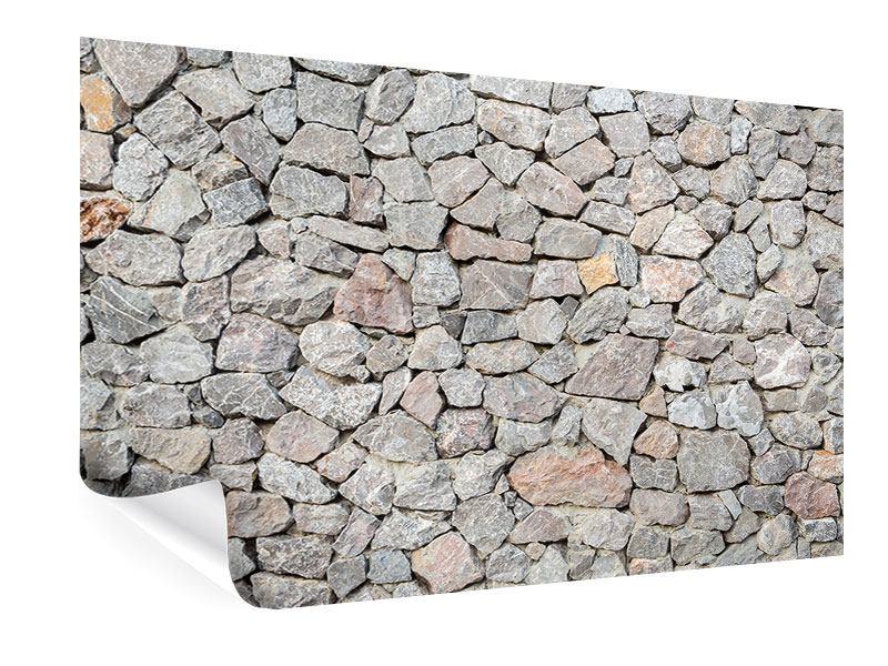 Poster Grunge-Stil Mauer