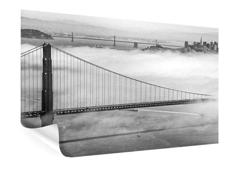 Poster Golden Gate Brücke
