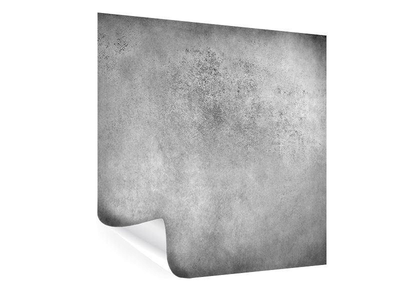 Poster Graue Wandschattierungen