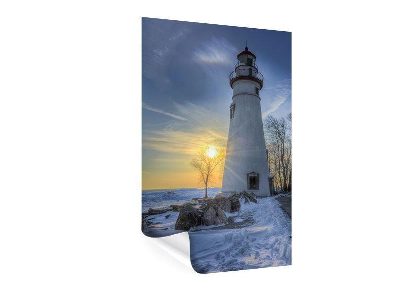 Poster Marblehead Leuchtturm