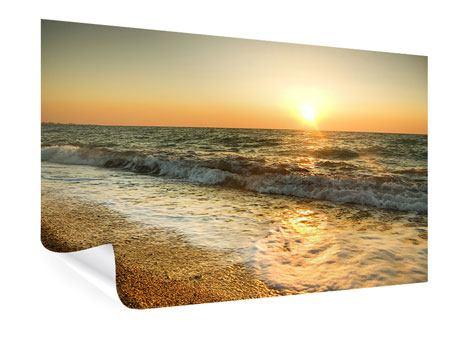 Poster Sonnenuntergang am Meer