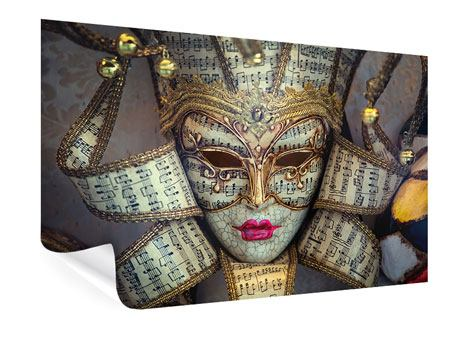 Poster Venezianische Maske