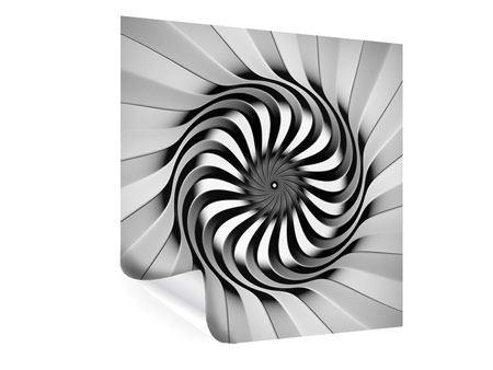 Poster Abstrakte Spirale