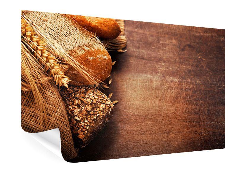 Poster Frische Brote