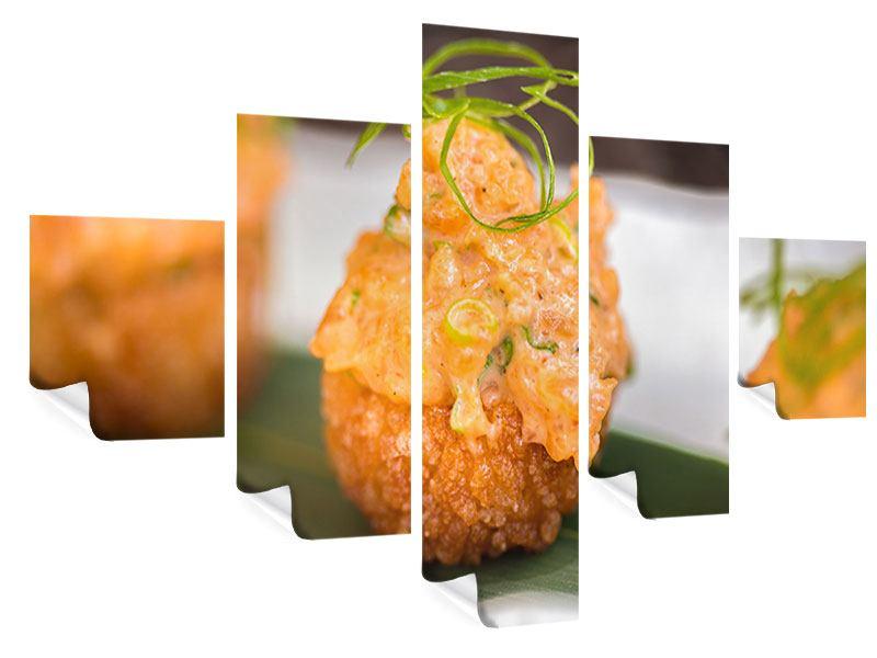 Poster 5-teilig Asiatische Küche