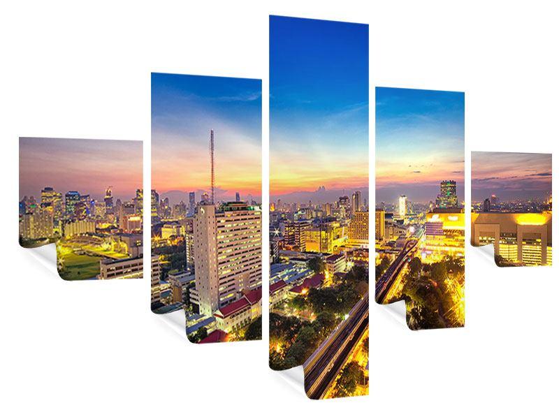 Poster 5-teilig Bangkok