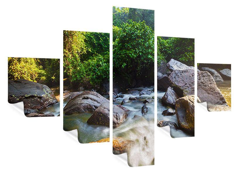 Poster 5-teilig Das Gewässer