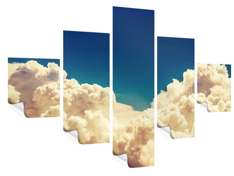 Poster 5-teilig Himmelswolken