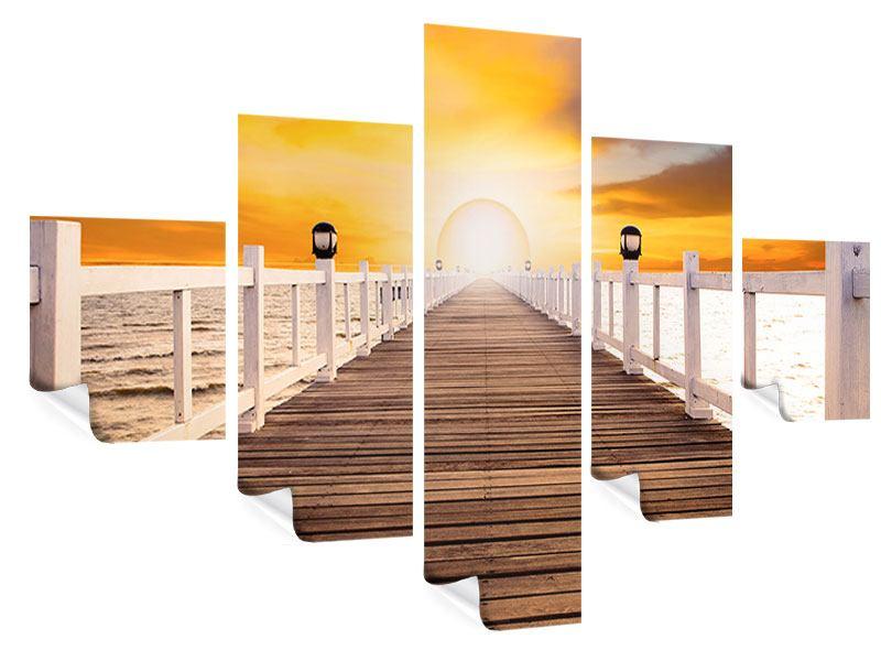 Poster 5-teilig Die Brücke Ins Glück